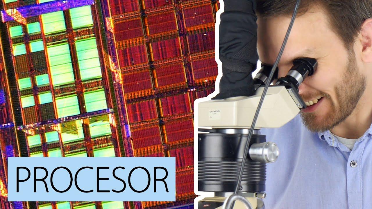 Procesory pod mikroskopem