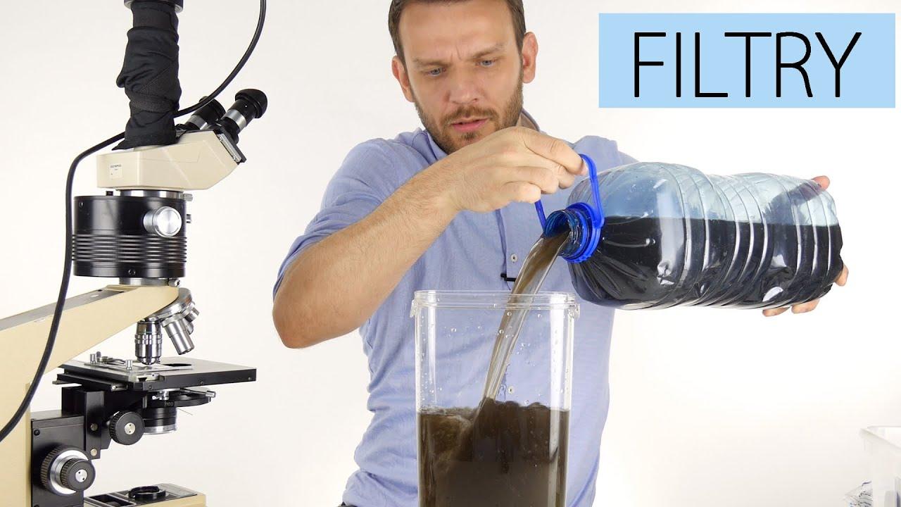 Czy filtry usuwają mikroorganizmy?